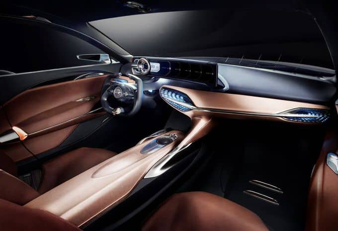 Hyundai : une Genesis New York Concept pour s'attaquer au marché des berlines de luxe hybride 3