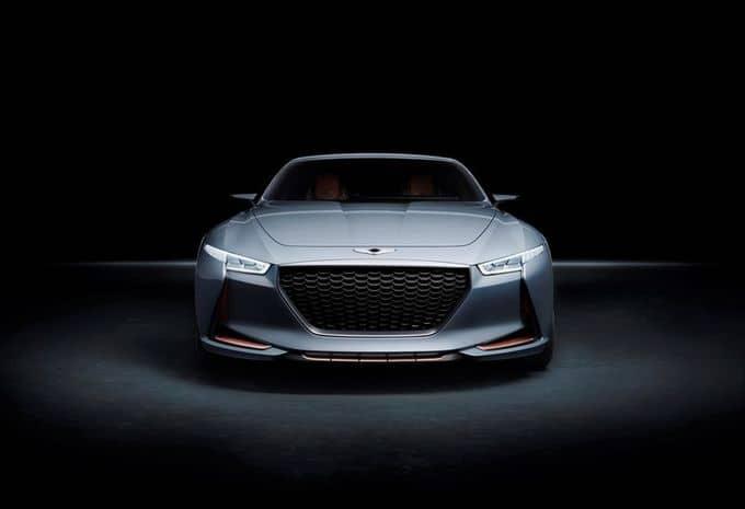 Hyundai : une Genesis New York Concept pour s'attaquer au marché des berlines de luxe hybride 5