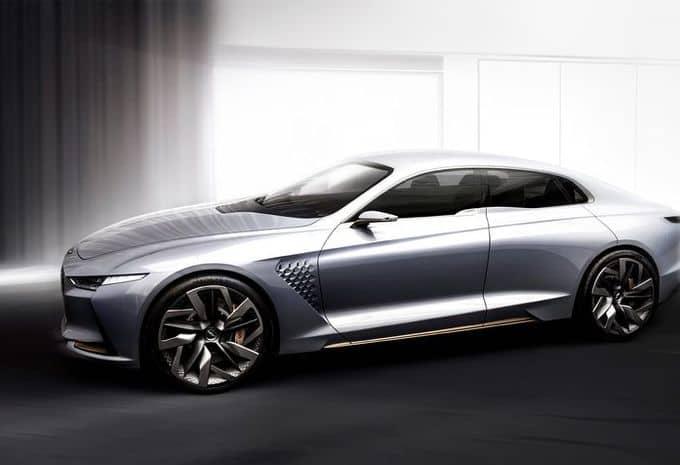 Hyundai : une Genesis New York Concept pour s'attaquer au marché des berlines de luxe hybride 7