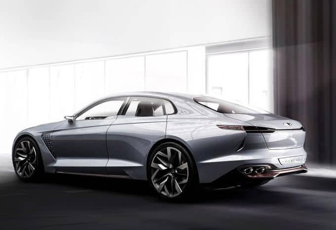 Hyundai : une Genesis New York Concept pour s'attaquer au marché des berlines de luxe hybride 8