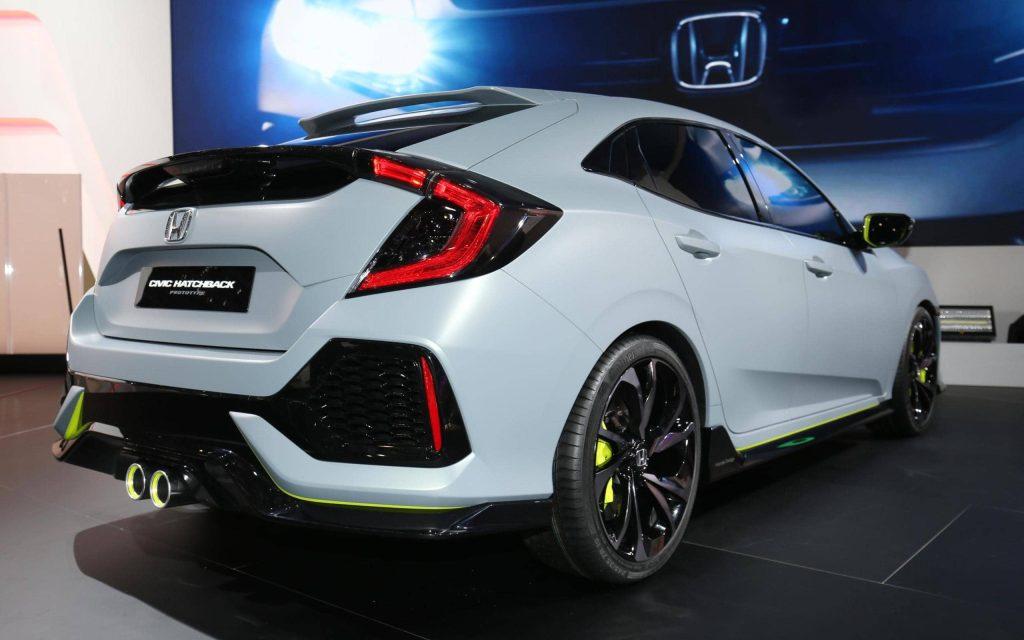 La Honda Civic Hatchback revient… sous la forme d'un concept 3