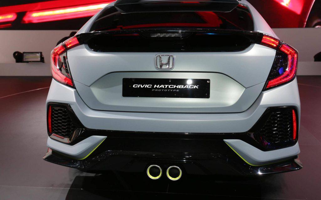 La Honda Civic Hatchback revient… sous la forme d'un concept 4