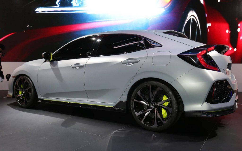 La Honda Civic Hatchback revient… sous la forme d'un concept 6
