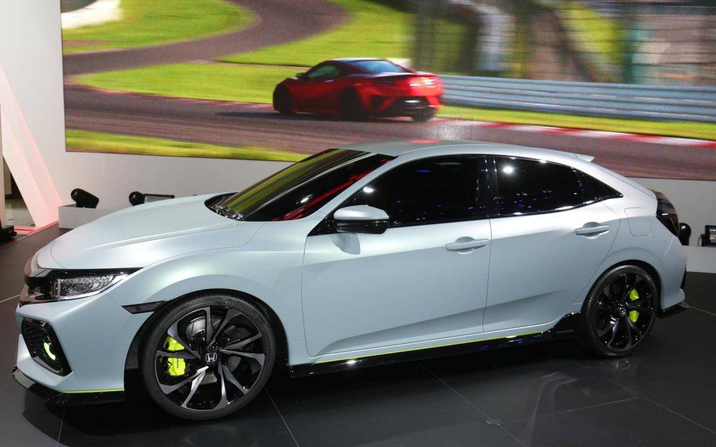 La Honda Civic Hatchback revient… sous la forme d'un concept 7