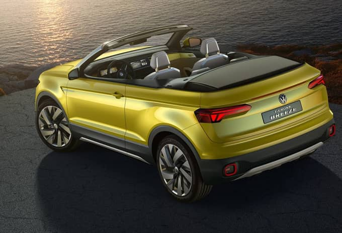 Le concept T-Cross Breeze de Volkswagen fuite avant sa présentation 2