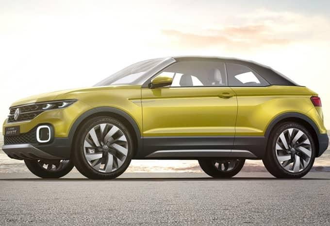 Le concept T-Cross Breeze de Volkswagen fuite avant sa présentation 5