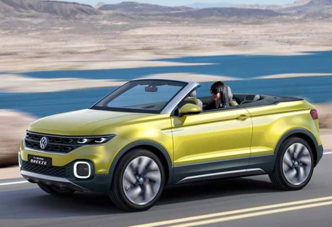 Le concept T-Cross Breeze de Volkswagen fuite avant sa présentation 9