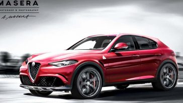 Le SUV Stelvio d'Alfa Romeo pour le Salon de Los Angeles ?