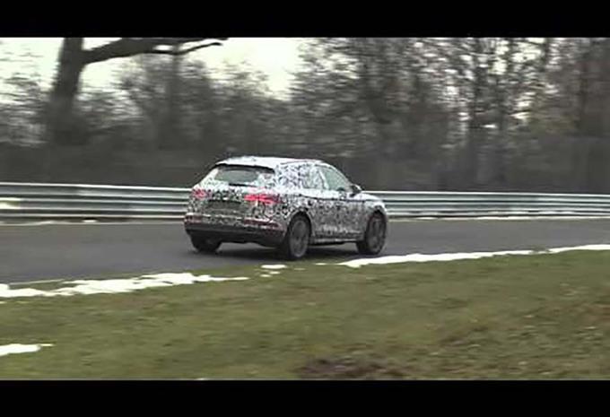 Les prototypes attestent que le nouvel Audi Q5 se prépare 1