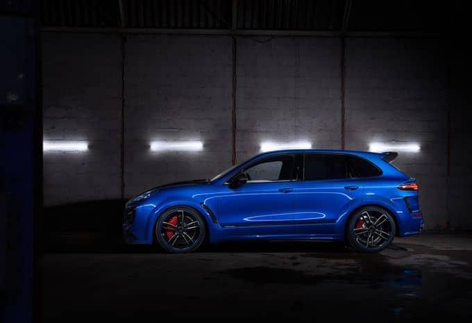 Lorsque TechArt se penche sur la Porsche Cayenne, cela lui procure jusqu'à 700 ch !