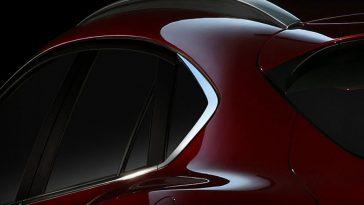Mazda révèle une première image de son SUV CX-4