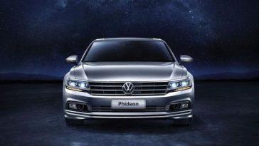 Phideon, une nouvelle Volkswagen conçue spécialement pour la Chine