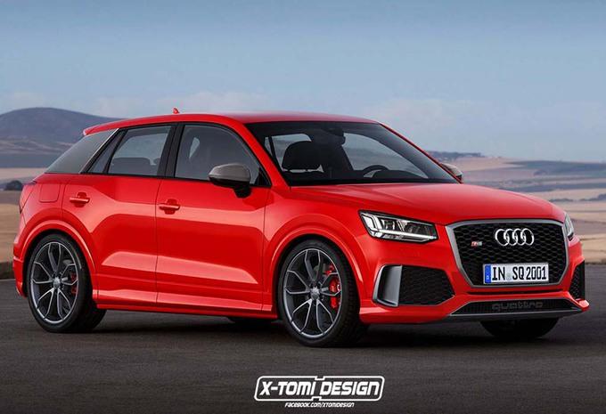 Nouveau Audi Q2 RS ?