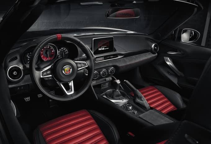 Un roadster Fiat 124 Spider Abarth très sportif pour le Salon de Genève 4