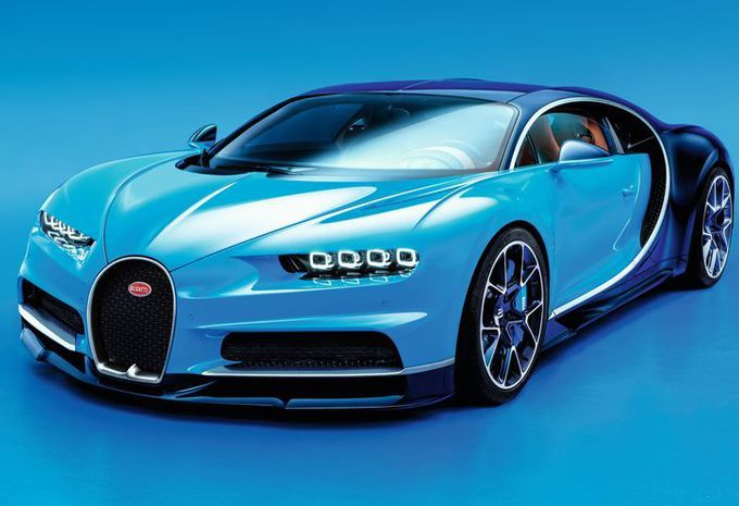 Une Bugatti Chiron aussi hors norme que la Veyron