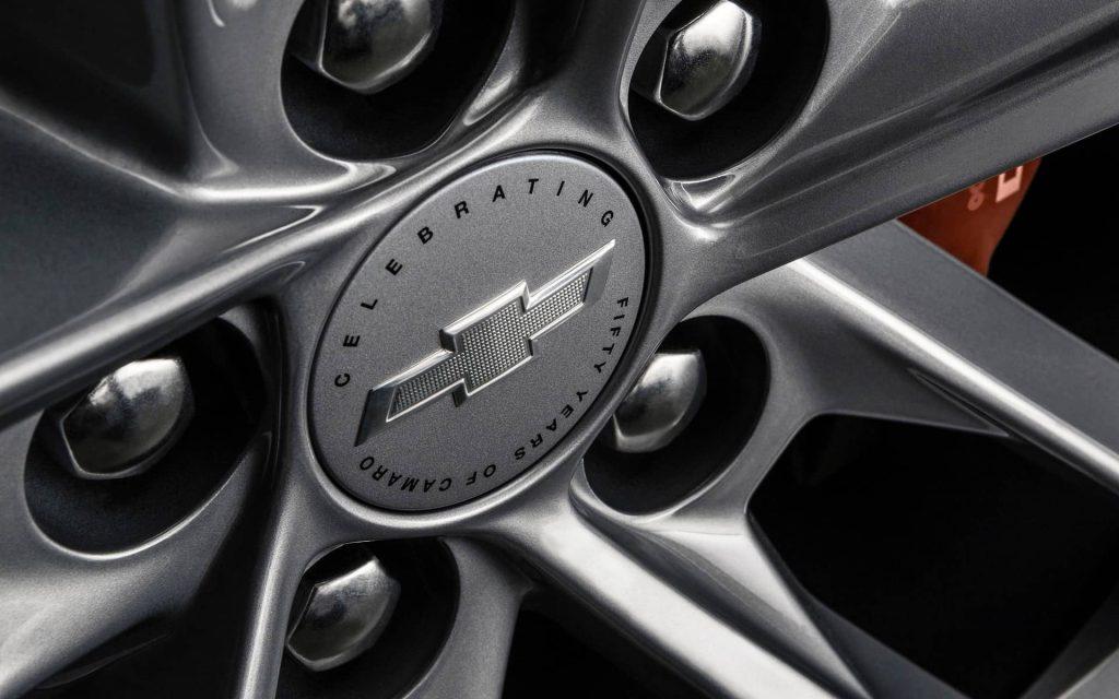 Une Camaro spéciale pour célébrer son 50e anniversaire