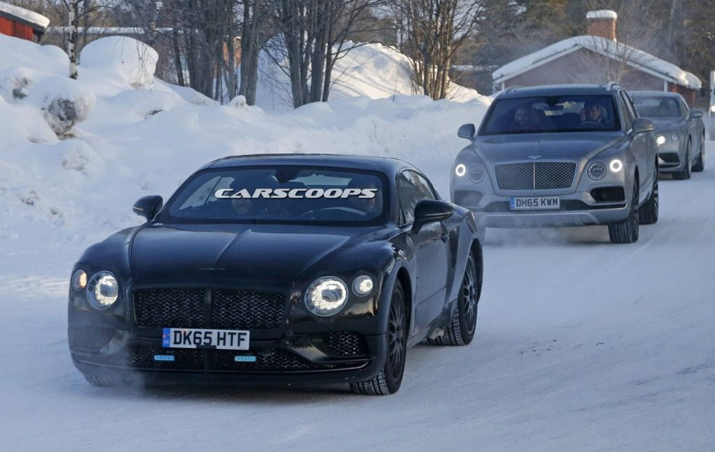Une cure minceur pour la Bentley Continental GT 1