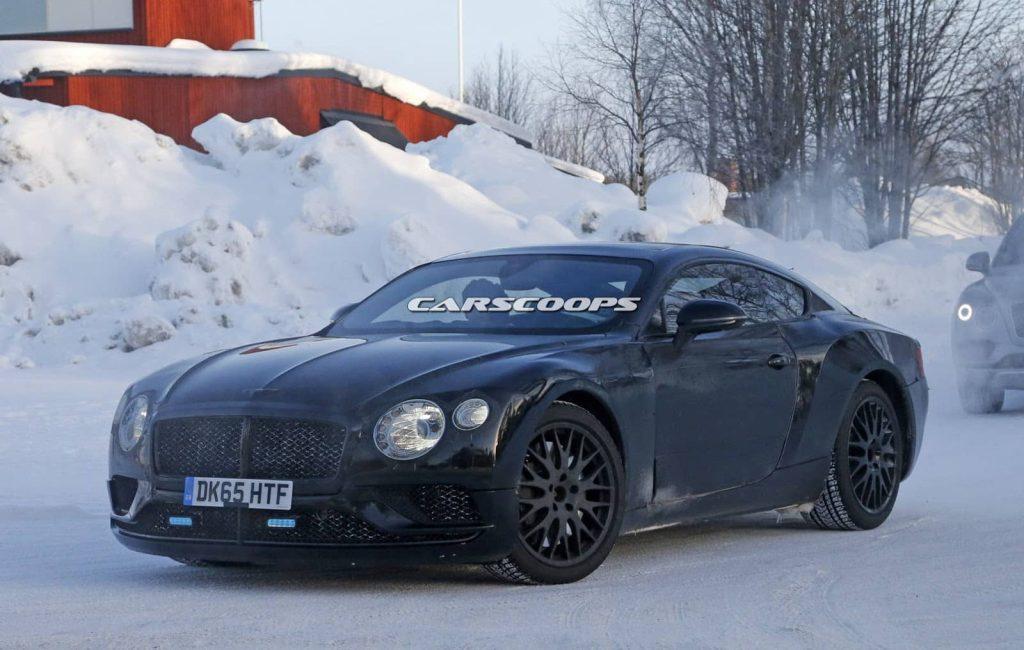Une cure minceur pour la Bentley Continental GT (photos)