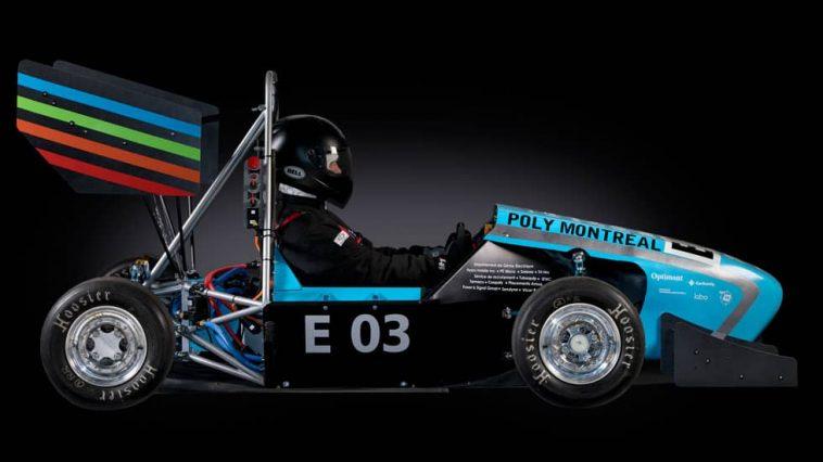 La formule de course 100 % électrique de Poly eRacing affiche un 0 à 100 km/h en 4 secondes