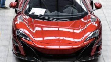 Une première photo de la McLaren 688HS