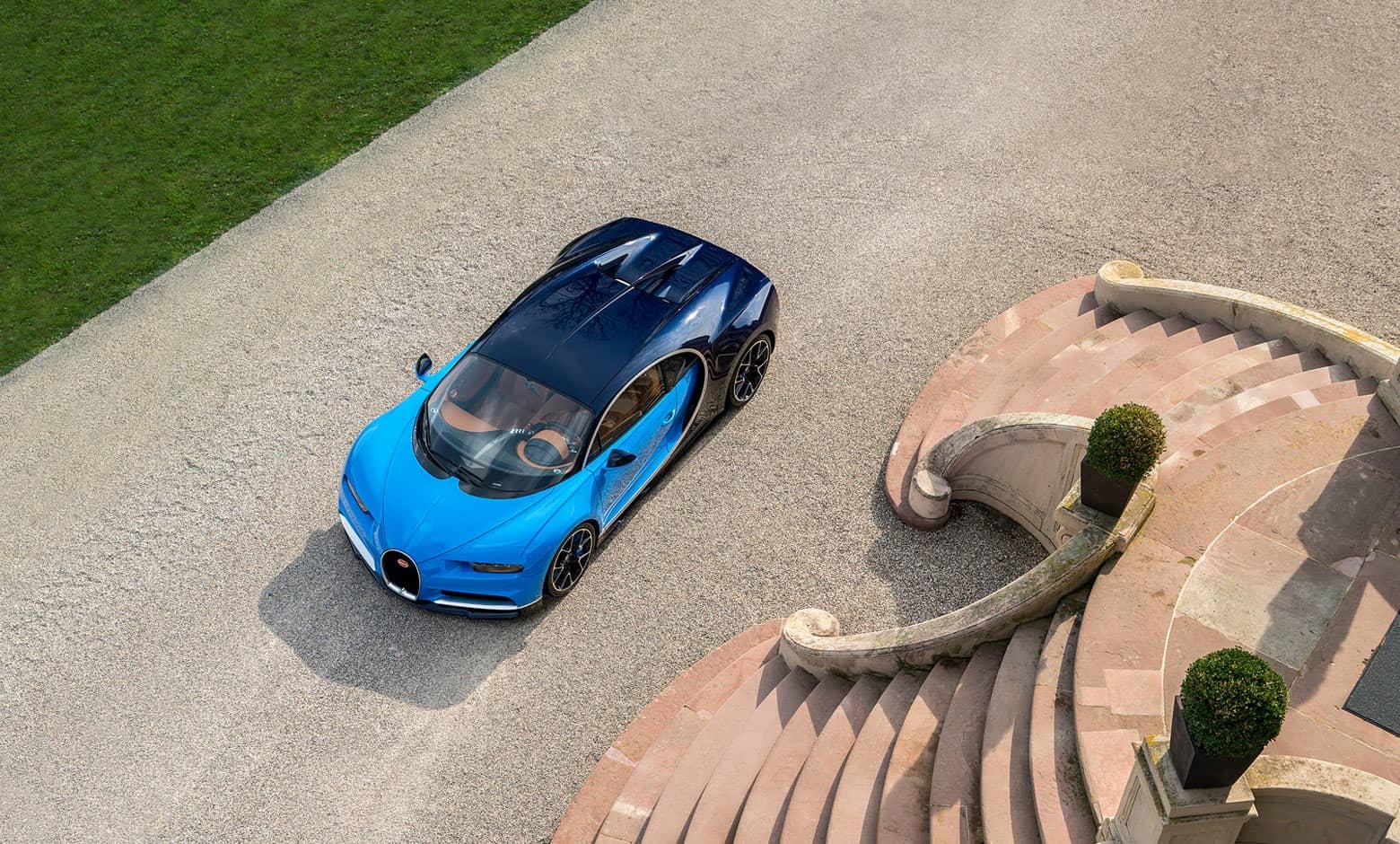 Une Bugatti Chiron et une Bugatti Vision Gran Turismo pour un seul acheteur saoudien