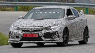 C'est en Espagne que la nouvelle Honda Civic Type R a été surprise
