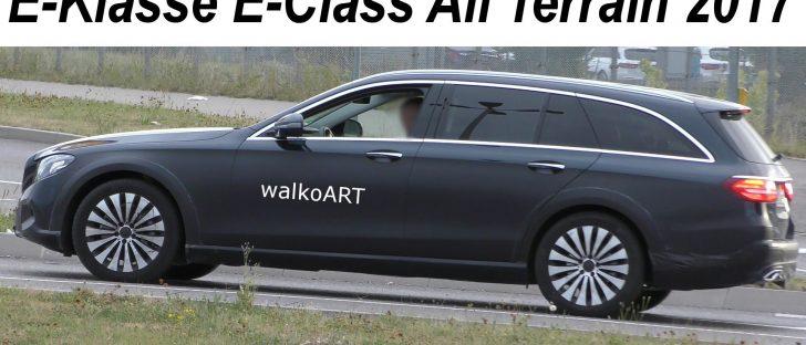 Avec la Classe E Allroad, Mercedes va lancer un break surélevé aux allures de SUV