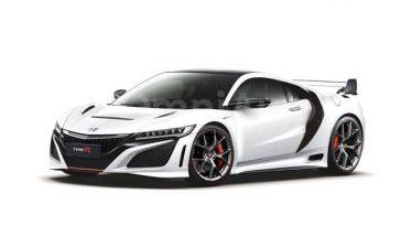 Faute d'informations officielles, des vues d'artistes montrent ce que pourrait être la Honda NSX-R