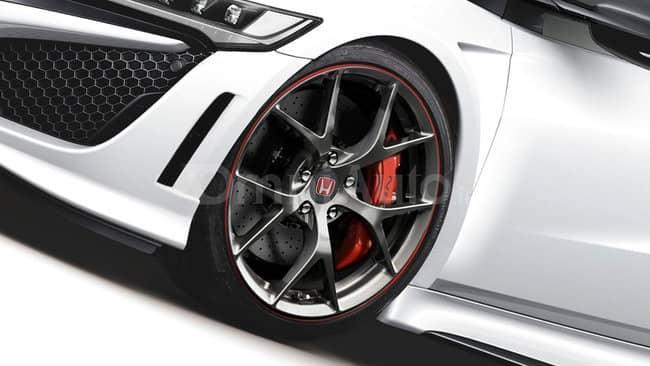 Les interprétations de la Honda NSX-R fleurissent sur le web 3