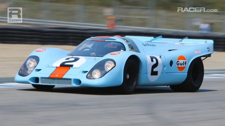 Les sonorités du flat-12 4.5 l de la Porsche 917K en plein action : un régal sonore