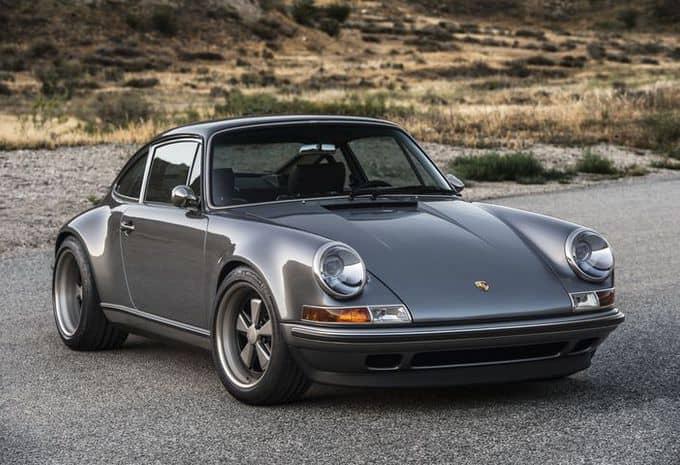 Singer présente deux nouvelles restaurations de Porsche 911 3