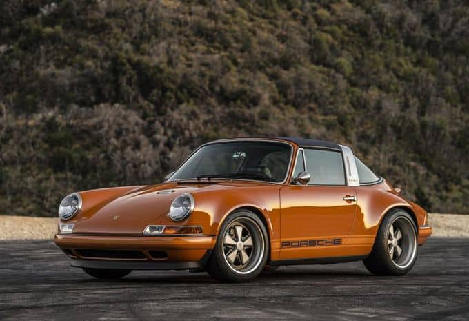 Singer présente deux nouvelles restaurations de Porsche 911 4