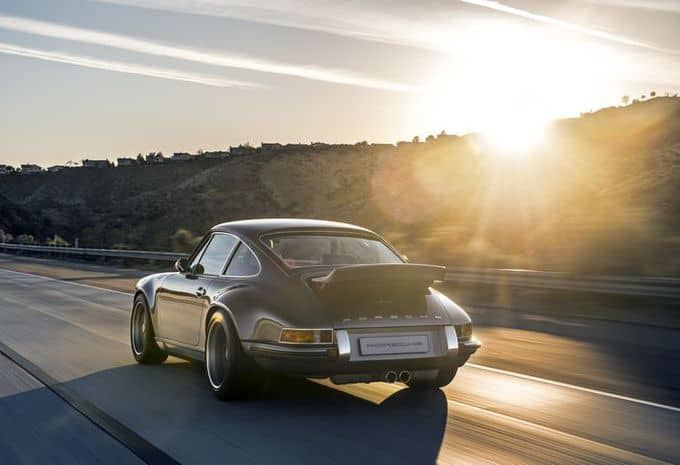 Singer présente deux nouvelles restaurations de Porsche 911 6