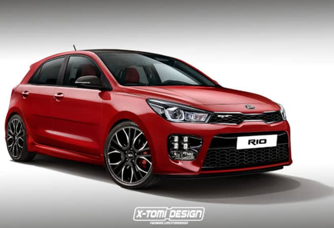 Indépendamment de Kia, un designer imagine une Rio GT