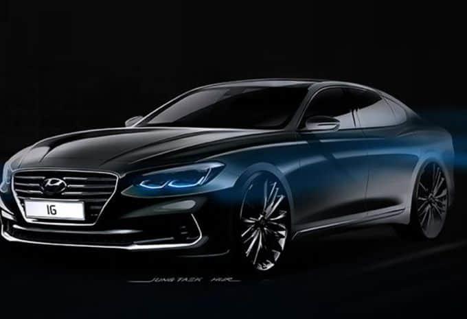 Hyundai prépare une 6e génération de la grande berline Grandeur
