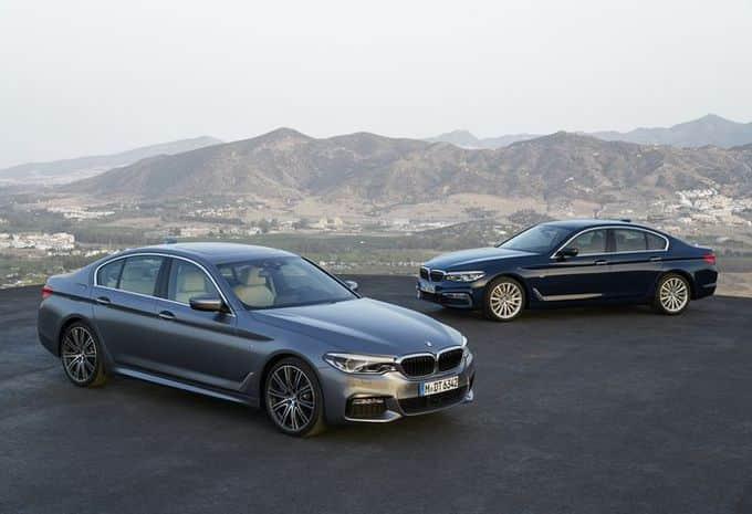 La part belle aux nouvelles technologies pour la 7e génération de la BMW Série 5