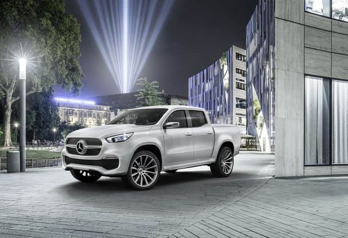Le futur pick-up de Mercedes s'appellera le Classe X