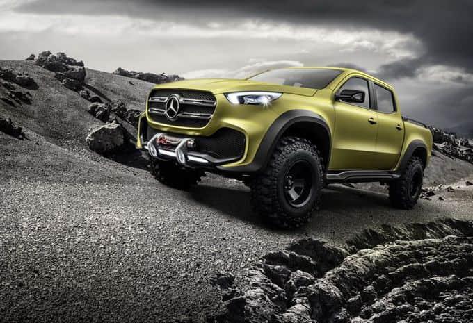 Le futur pick-up de Mercedes s'appellera le Classe X