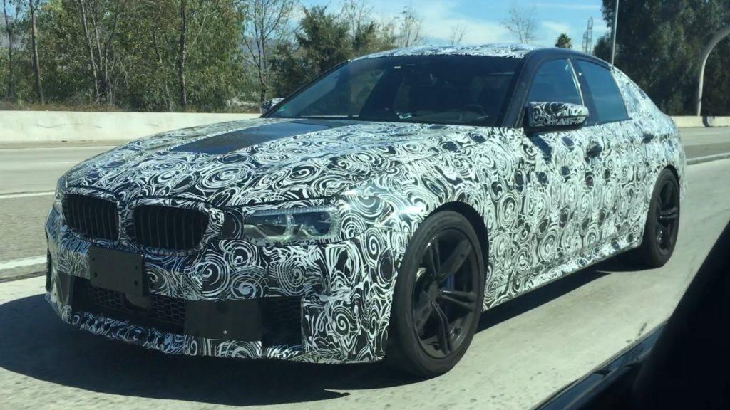 Les routes californiennes servent de terrain d'essai pour les 600 ch de la future BMW M5
