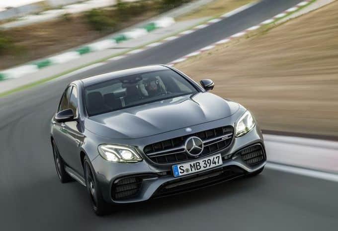 Mercedes lève le voile sur une AMG E63 S de 600 ch!