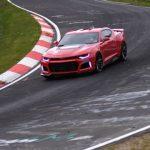 La nouvelle Camaro ZL1 fait mieux que sa devancière sur la boucle du Nürburgring