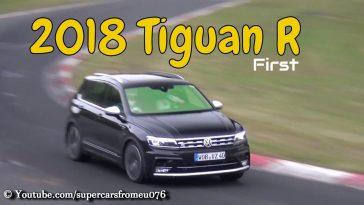 Volkswagen prépare un Tiguan très musclé sur le Ring