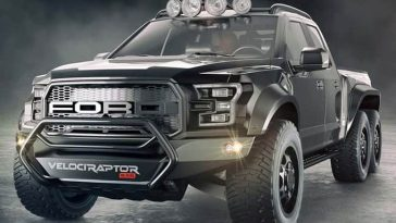 Hennessey transforme radicalement un Ford F-150 : le VélociRaptor 6x6
