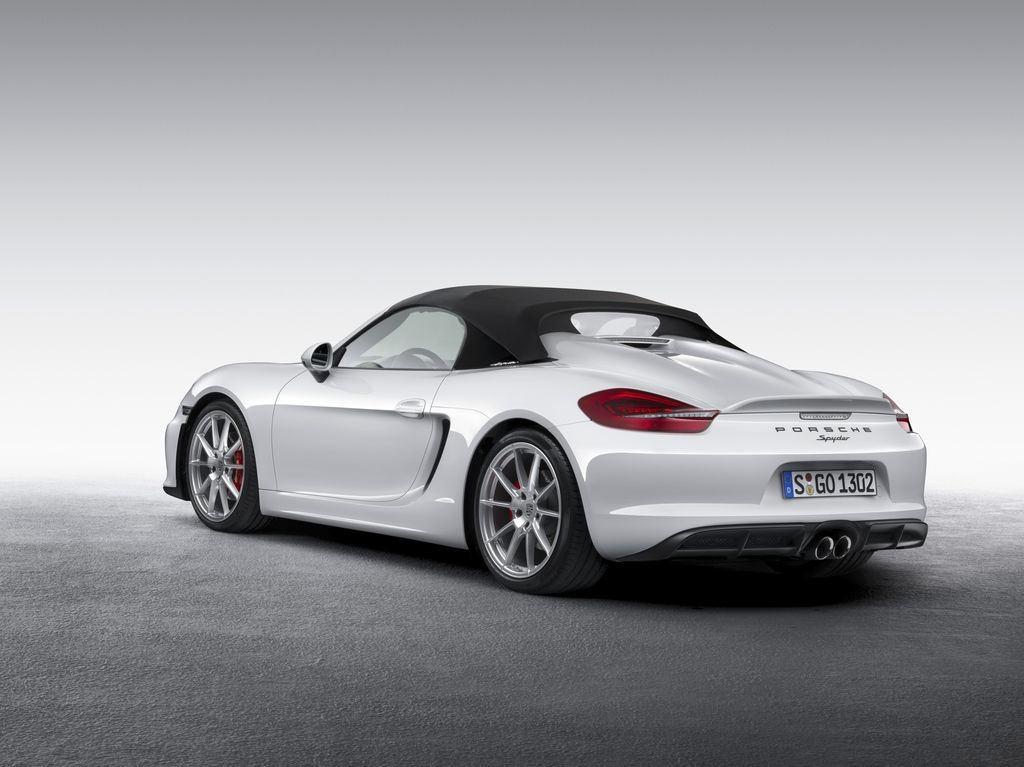 Porsche dévoile une nouvelle déclinaison Boxster Spyder 4