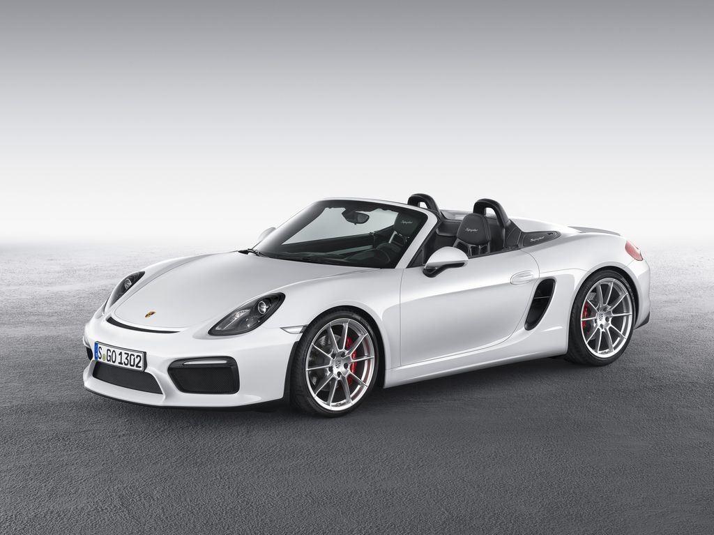 Porsche dévoile une nouvelle déclinaison Boxster Spyder 6