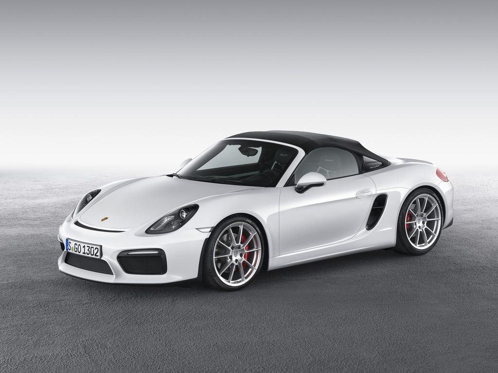Porsche dévoile une nouvelle déclinaison Boxster Spyder 7