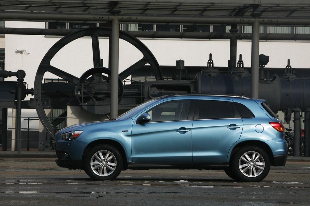 Mitsubishi : une déclinaison Evo pour l'ASX ? 6