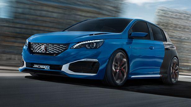 Peugeot : 500 chevaux sous le capot de la 308 R HYbrid 1