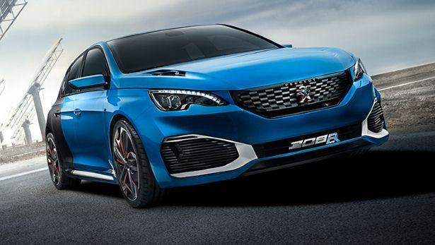 Peugeot : 500 chevaux sous le capot de la 308 R HYbrid 5