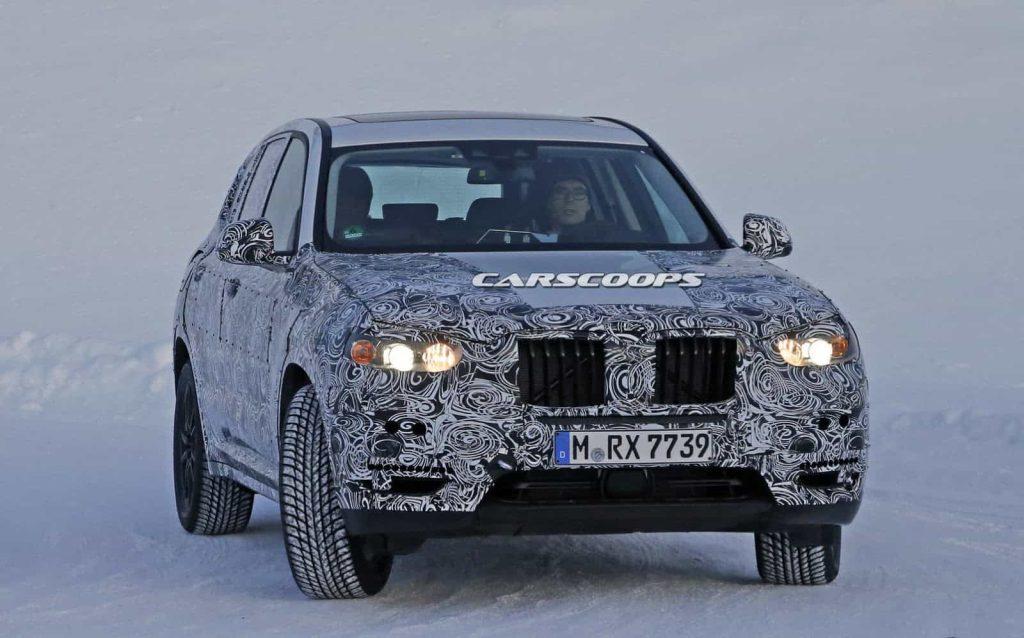 BMW teste son nouveau BMW X3 : des photos le prouvent 3